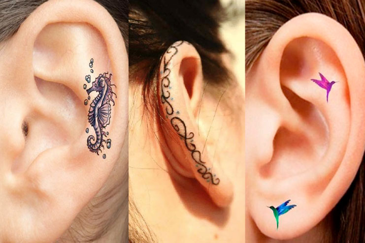 Helix Tattoo The Newest Trend In Body Arts