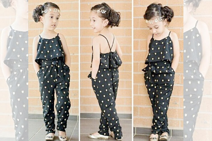 Stylish Jumpsuit Designs For Kids They Would Love Wearing