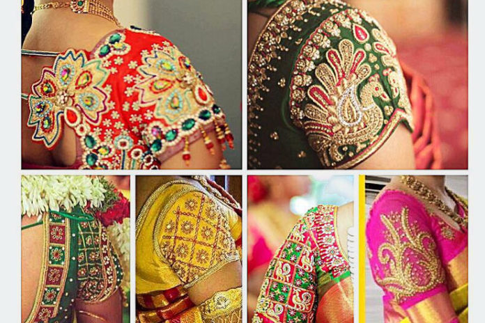 Latest Trendy Blouse Designs