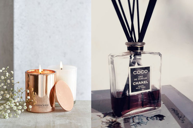 Use a fragrance diffuser