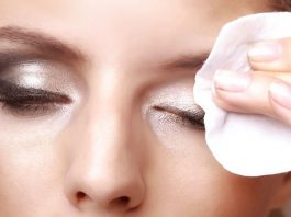 Makeup removal mistakes