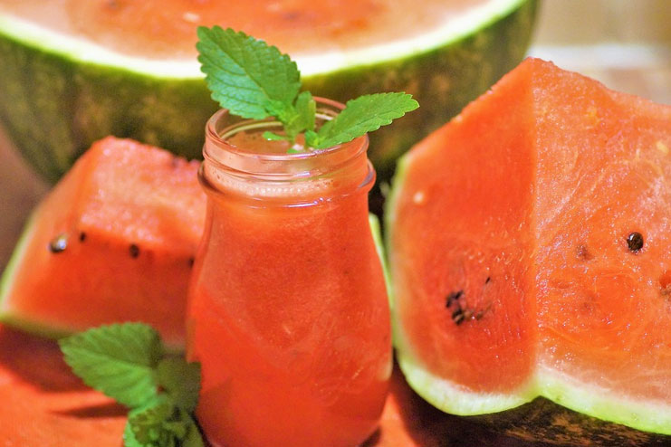Watermelon & cucumber Mask