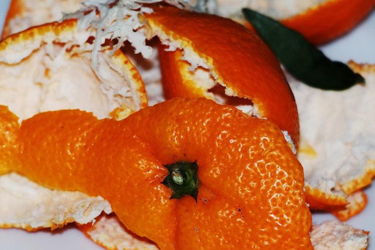 Peel of orange