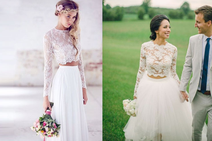Lace Details on the top