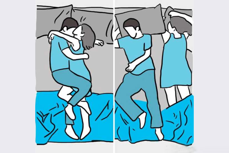 Cuddle and Relax Position