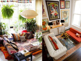 Decorate small space