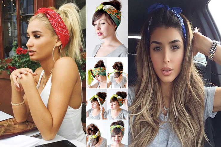 how to style hair with a bandana ultimate style lessons to wear a bandana perfectly 7071