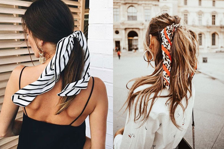 The ponytail style