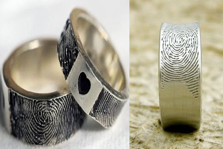 Finger print rings