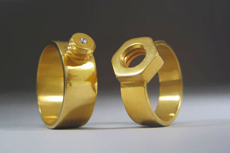 The nut and bolt Rings