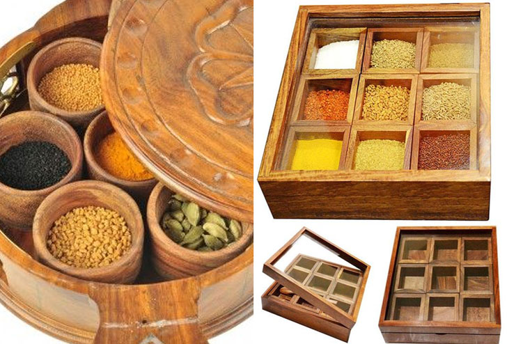Organize Your Spices and Ingredients