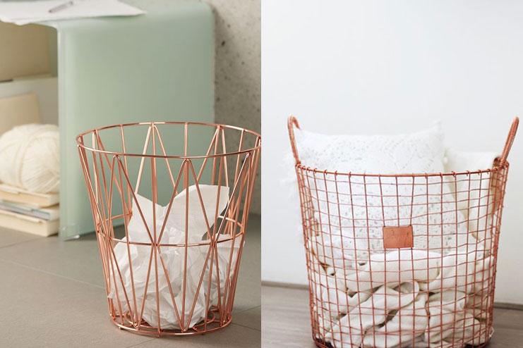 Dry waste basket