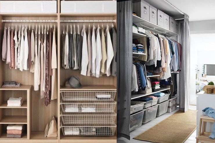 Wardrobe storage simplified