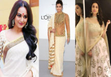 Look Slim in Indian Wear