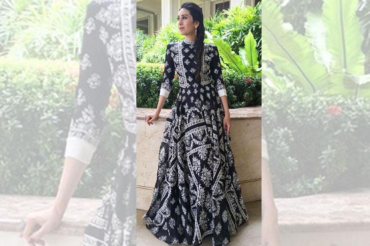Monochrome Indian wear