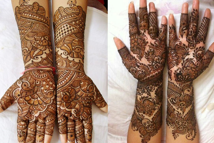 Full Hand Rajasthani Mehndi
