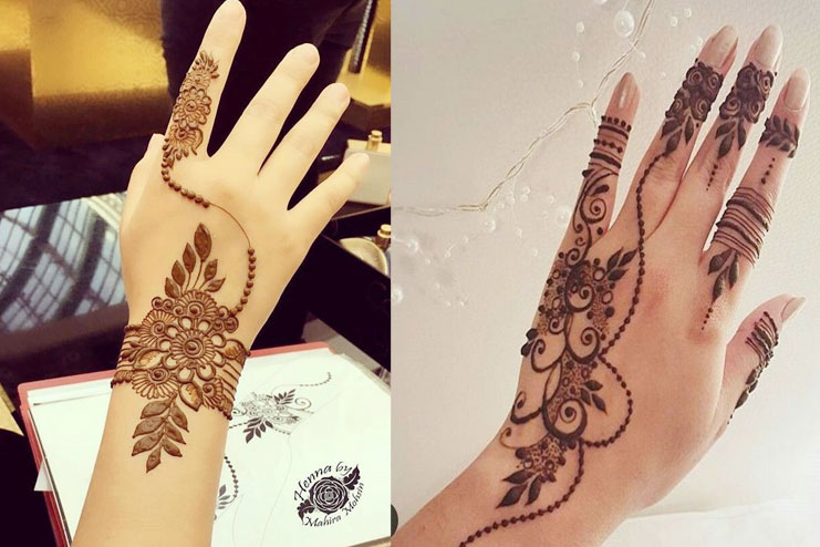 Embellishment Mehndi Design