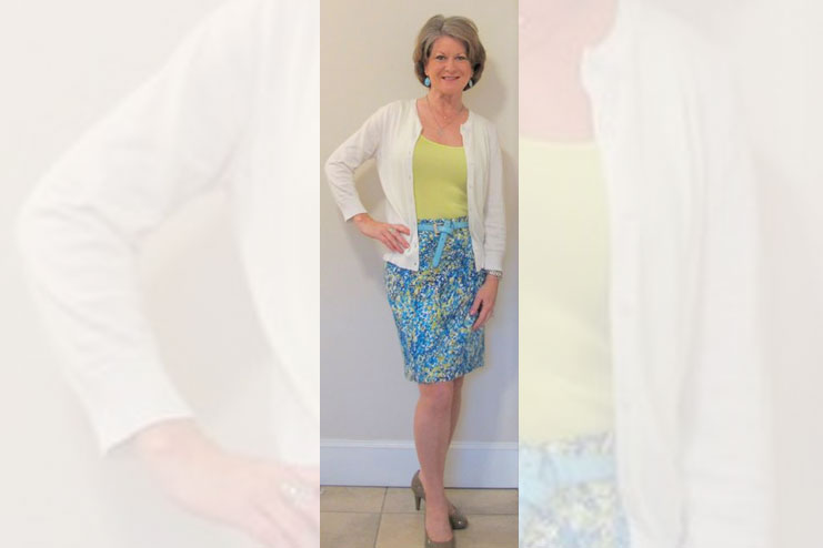 The warmer colors-Dresses for Older Women