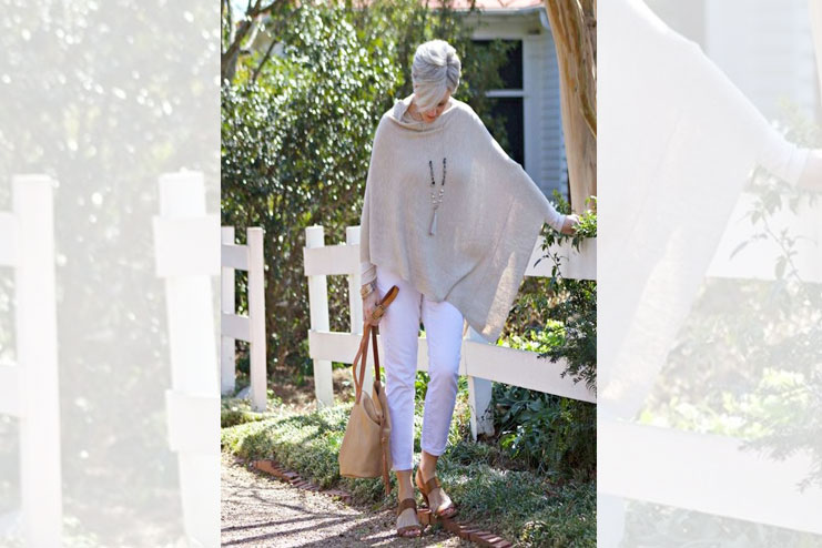 Capes and blankets-Dresses for Older Women