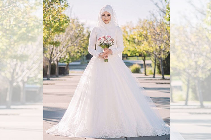 Wedding Dress Ideas: Absolutely Stunning Bridal Dress Ideas For Muslim Brides