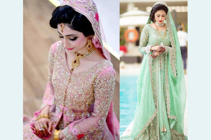 Top Stunning Bridal Dress Ideas For Indian Muslim Brides - Hash Notice