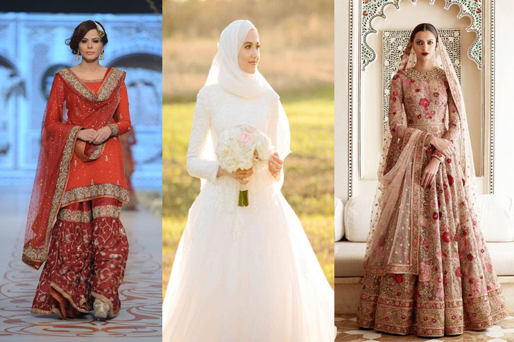 Absolutely Stunning Bridal Dress Ideas For Muslim Brides