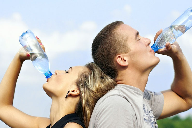 Not drinking enough water-Biggest diet mistakes