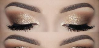 Gold EyeShadow Makeup