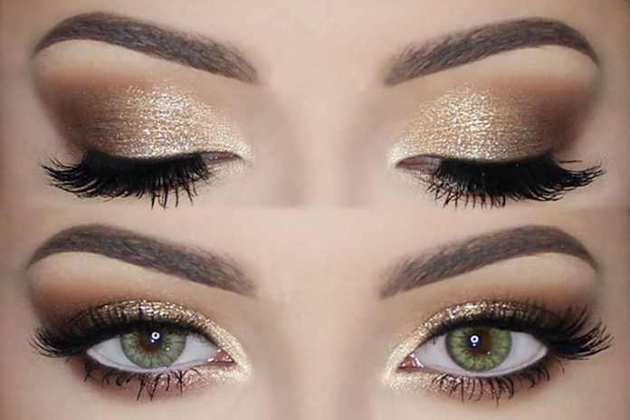 Gold EyeShadow Makeup