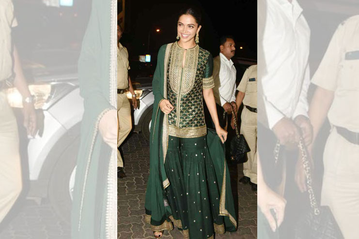 Deepika Padukone-What to wear to a sangeet