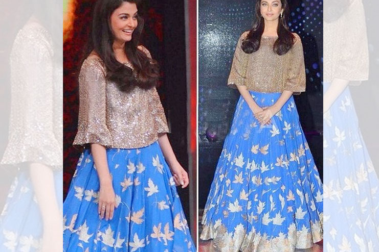 Aishwarya Rai -What to wear to a sangeet