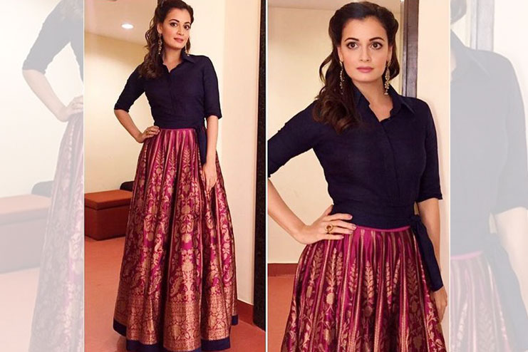 Diya Mirza-What to wear to a sangeet