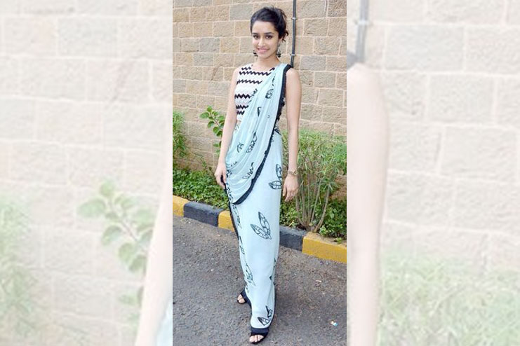 Shraddha Kapoor-What to wear to a sangeet