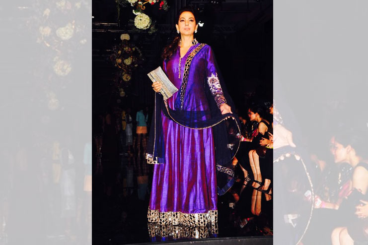 Juhi Chawla-What to wear to a sangeet