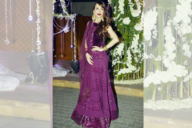 Malaika Arora Khan-What to wear to a sangeet