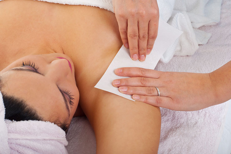 Waxing underarms side effects
