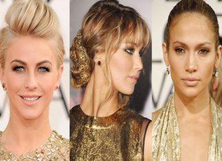 makeup for gold dress