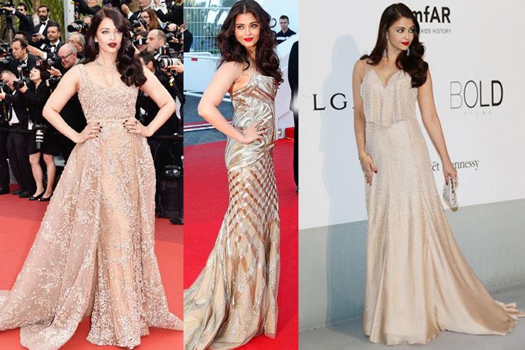 Golden Dress Makeup