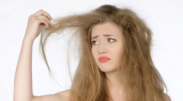 Dehydrated hair