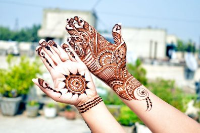 Best Peacock Mehendi Designs