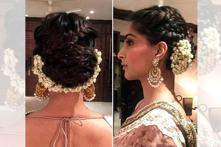 Sonam Kapoor again who takes the hairstyle