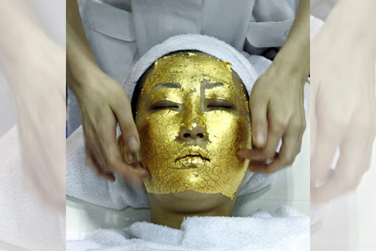 gold facial kit at home