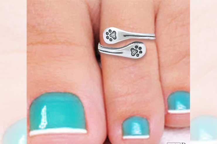 Adjustable-toe-rings