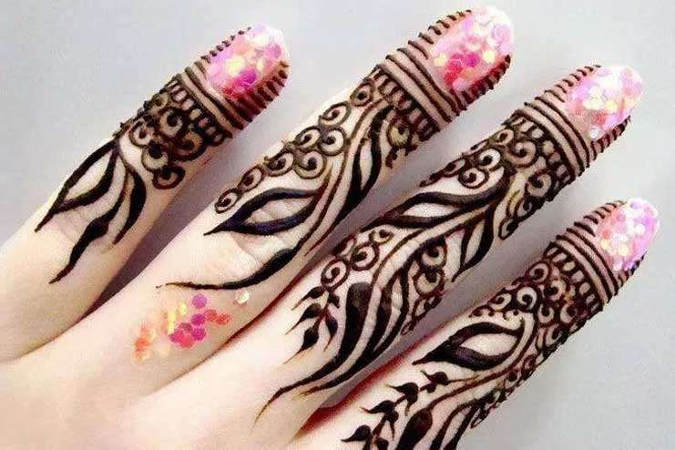 Arabic-Finger-Mehndi-Design