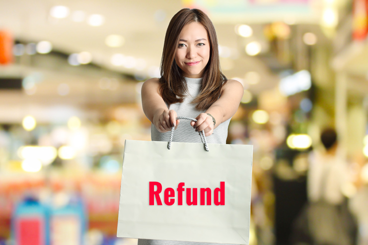 Check for return policies