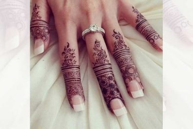 9 Lovely Finger Mehndi Designs
