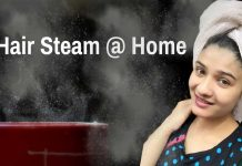 Hair-steaming-at-home