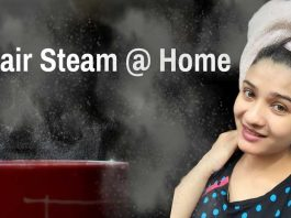 Hair-steaming-at-home