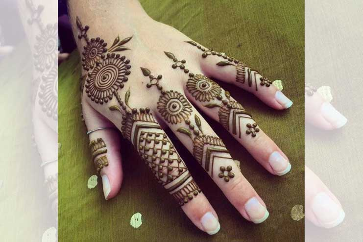 Indian-Finger-Mehndi-Design