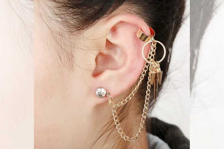 Multi-Chain-Ear-Cuffs